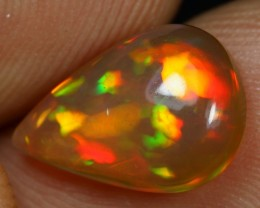 Free Shipping 2.05cts 5/5 Floral Pattern Ethiopian Opal