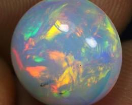 4.60cts Multi Flash Rainbow Fire Ethiopian Opal