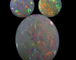1.61 CTS SOLID OPAL PARCEL SET 3[C-SAFE266]