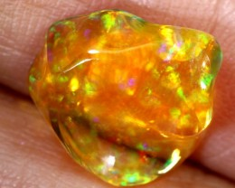 3.3-CTS MEXICAN  FIRE OPAL FREEFORM   FOB-1728
