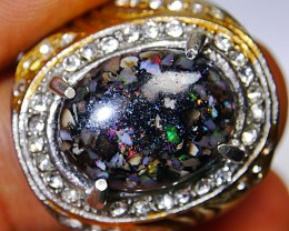59.10 CT Beautiful Indonesian Opal Ring Jewelry