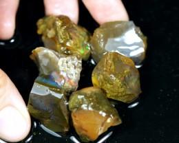 163ct Ethiopian Crystal Rough Specimen Rough Lot