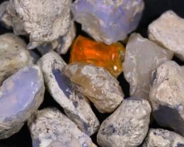 200ct Medium Size Ethiopian Welo Rough Opal Parcel Lot 04