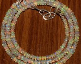 37 Crts Natural Ethiopian Welo Fire Opal Beads  0028