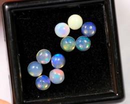 1.60cts 4mm Calibrate Ethiopian Welo Opal Lot