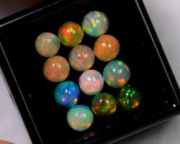 4.79cts 5mm Calibrate Ethiopian Welo Opal Lot