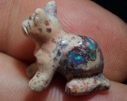 Mexican Matrix Opal Cool Little  Blue Moon Cat