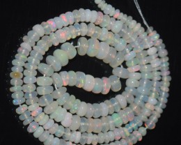 38.15 Ct Natural Ethiopian Welo Opal Beads Play Of Color