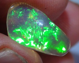 3.0 ct Ethiopian Gem Color Carved  Freeform Welo Opal