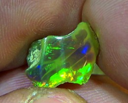 2.90 cts Ethiopian Welo RIBBON CELLS dark opal N4 4/5