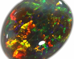 4.45 CTS BLACK OPAL STONE-LIGHTNING RIDGE- [LRO326]