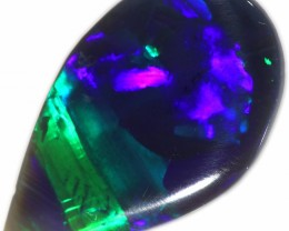2.80 CTS BLACK OPAL STONE-LIGHTNING RIDGE- [LRO327]