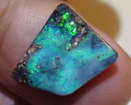 6.80 ct Boulder Opal With Natural Beautiful Blue Green Color