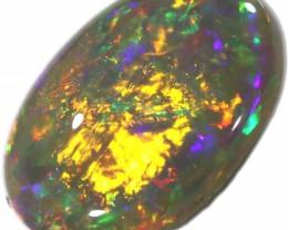 2.20 CTS  SOLID OPAL POLISHED LIGHTNING RIDGE [LRO334]