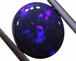 N-1 - 3.15CTS BLACK OPAL POLISHED STONE INV-772 - investmentopals