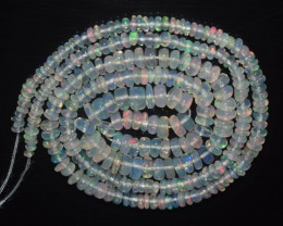 24.10 Ct Natural Ethiopian Welo Opal Beads Play Of Color