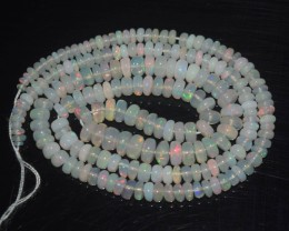39.00 Ct Natural Ethiopian Welo Opal Beads Play Of Color