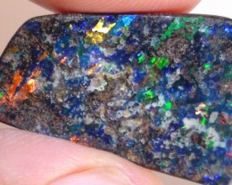 11.0 ct Boulder Opal With Beautiful Gem Multi Color