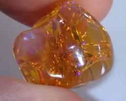 15.20 ct Ethiopian Carved Free Form Welo Opal Specimen