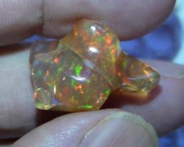 20.15 ct Carved Free Form Welo Opal Specimen