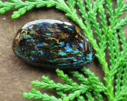 "14.5cts,""BOULDER WOOD FOSSIL OPAL"""