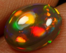 1.50cts 5/5 Neon Patchwork Pattern Natural Ethiopian Welo Opal