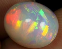 $0 Shipping 7.00cts Brush Rainbow Fire Ethiopian Opal
