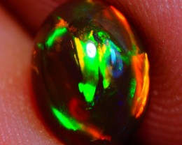 8x6 mm Dark base !!! AAA FLASHY ETHIOPIAN OPAL-AE650