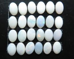 5.10ct  24stone White / Precious South Australian Opal parcel