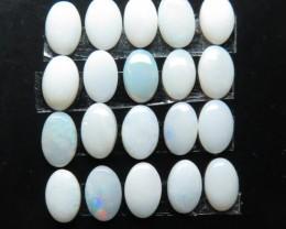 4.30ct 20 stone White / Precious South Australian Opal