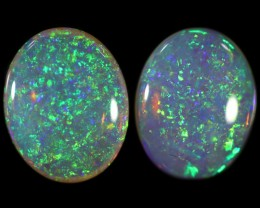 3.00 CTS CRYSTAL OPAL PAIR  [C-SAFE301]
