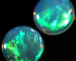 1.03 CTS CRYSTAL OPAL PAIR-CALIBRATED   [C-SAFE311]
