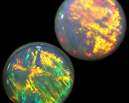 1.50 CTS CRYSTAL OPAL PAIR-CALIBRATED   [C-SAFE315]