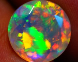 2.76 CT One of a Kind !!AAA Faceted Ethiopian Opal - AE532