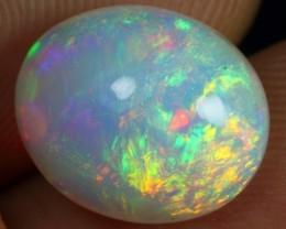 Black Friday 20% Offer 3.05cts Galaxy Rainbow Fire Ethiopian Opal