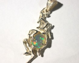 Pendant Silver 925 with Wello Opal Tot. Cts. 18    CV35