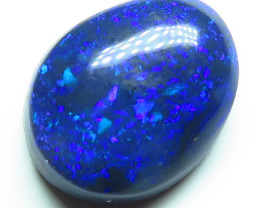 1.44ct Lightning Ridge Black Opal stone