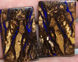 99.5cts Koroit Boulder Opal Pair