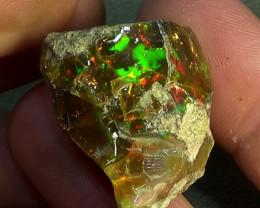 67.0 cts Ethiopian Welo FLASH crystal opal N9 3/5