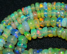 30.00 CRT GORGEOUS OPAL BEADS STRANDS MULTICOLOR WELO OPAL-