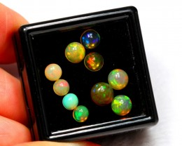 2.78cts Round Mix Size Ethiopian Welo Opal Lot