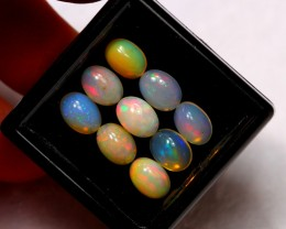 5.67ct 7x5mm Ethiopian Welo Opal Lot