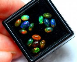 2.49cts 5x3mm Ethiopian Welo Opal Lot