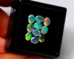 Faceted 2.05ct 5x4mm Ethiopian Welo Opal Lot
