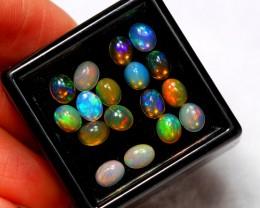 3.63cts Ethiopian Welo Solid Opal Lot