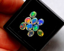 Faceted 1.89cts Mix Size Ethiopian Welo Opal Parcel