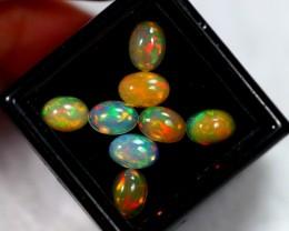 4.18ct Oval Cut Ethiopian Welo Solid Opal Lot