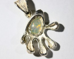 Pendant Silver 925 with Wello Opal Tot. Cts. 29.0    CV26