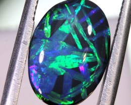 N1 -2.39 CTS QUALITY BLACK OPAL POLISHED STONE INV-1053