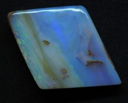 28.15CT VIEW PIPE WOOD REPLACEMENT BOULDER OPAL TT359